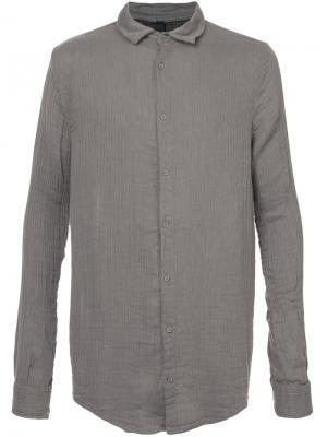 Рубашка в полоску Poème Bohémien. Цвет: серый