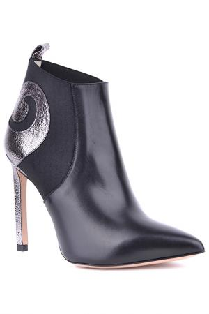 Ankle boots Marco Barbabella. Цвет: black and silver
