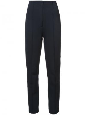 Tapered trousers Dvf Diane Von Furstenberg. Цвет: синий