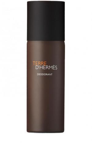 Дезодорант Terre d Hermès. Цвет: бесцветный