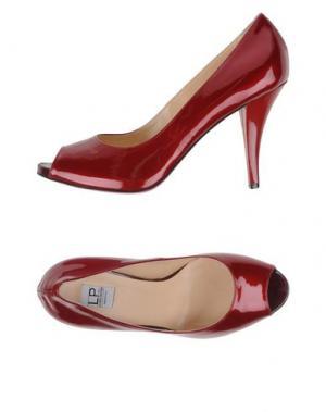 Туфли LUCIANO PADOVAN. Цвет: кирпично-красный