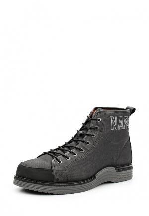 Ботинки Napapijri. Цвет: серый