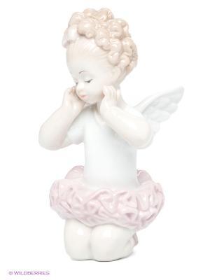 Фигурка Балерина Pavone. Цвет: бежевый, бледно-розовый, белый