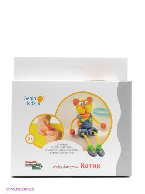 Набор для детского творчества Котик GENIO KIDS. Цвет: белый