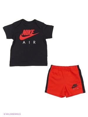 Спортивный комплект YA AIR GPX SET INF Nike. Цвет: черный, красный