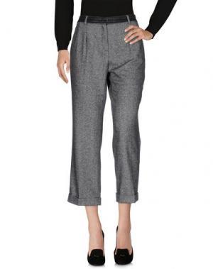 Повседневные брюки MARIELLA ARDUINI. Цвет: свинцово-серый