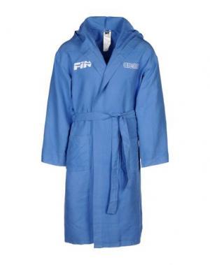 Банный халат ARENA. Цвет: пастельно-синий