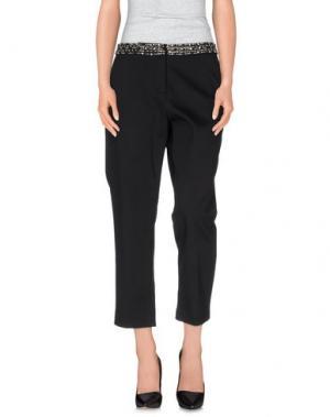 Повседневные брюки MANOUSH. Цвет: черный