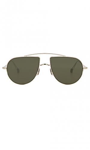 Солнцезащитные очки place d aligre Ahlem. Цвет: металлический серебряный