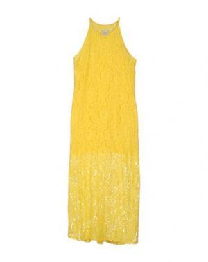 Длинное платье ..,MERCI. Цвет: желтый