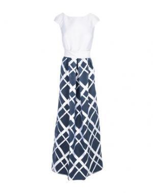 Длинное платье CAILAN'D. Цвет: светло-серый