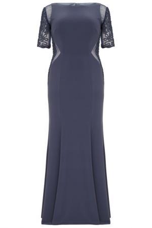 Платье DYNASTY CURVE. Цвет: серый