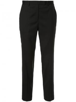 Укороченные классические брюки Tomorrowland. Цвет: чёрный