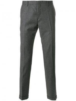 Классические брюки Paul Smith. Цвет: серый
