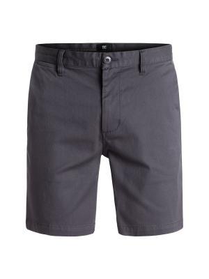 Бермуды DC Shoes. Цвет: серый