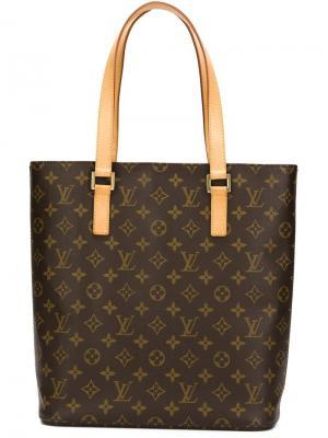 Сумка-тоут с монограммным узором Louis Vuitton Vintage. Цвет: коричневый