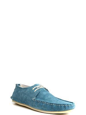 Мокасины MILANA. Цвет: голубой