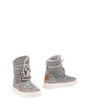 Полусапоги и высокие ботинки DOLFIE. Цвет: серый