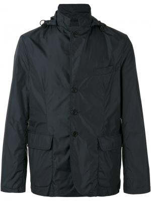 Спортивная куртка Aspesi. Цвет: синий