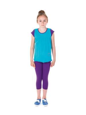 Тайтсы EMDI. Цвет: темно-фиолетовый