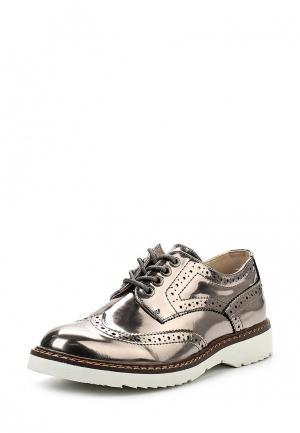 Ботинки Keddo. Цвет: серебряный