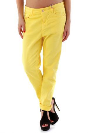 Брюки 525. Цвет: yellow
