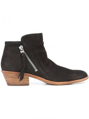 Zipped up boots Sam Edelman. Цвет: чёрный