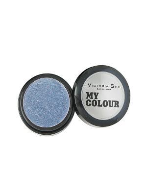 Тени для век My colour №518 Victoria Shu. Цвет: голубой