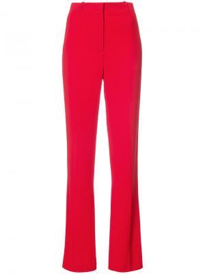 Прямые брюки Givenchy. Цвет: красный