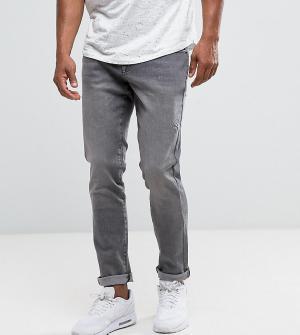 Brooklyn Supply Co. Серые джинсы слим Co. Цвет: серый