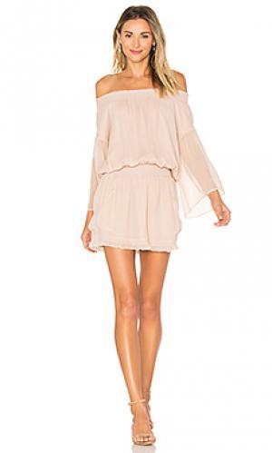 Платье montreaux Flannel Australia. Цвет: румянец