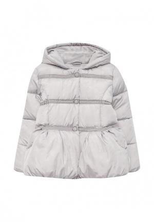 Куртка утепленная Blukids. Цвет: серый