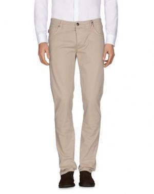 Повседневные брюки TRAMAROSSA. Цвет: бежевый