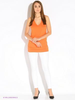 Майка Motivi. Цвет: оранжевый