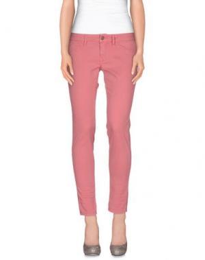 Повседневные брюки REIGN. Цвет: пастельно-розовый