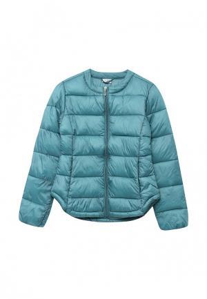 Куртка утепленная Blukids. Цвет: бирюзовый