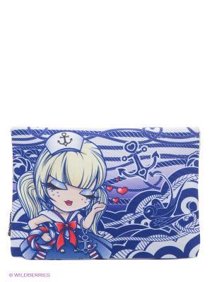 Мини-Клатч Морячка Салли Kimmidoll. Цвет: фиолетовый, белый