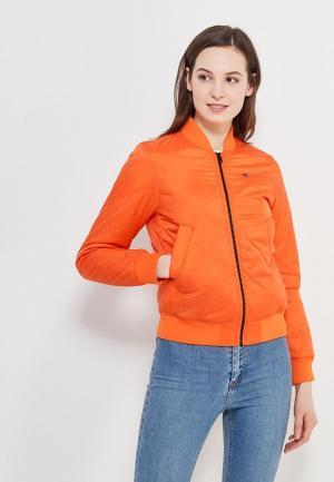 Куртка утепленная G-Star. Цвет: оранжевый