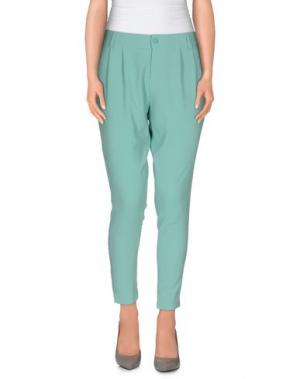 Повседневные брюки HANITA. Цвет: светло-зеленый
