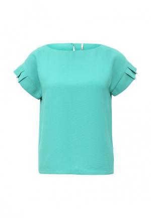Блуза Baon. Цвет: бирюзовый