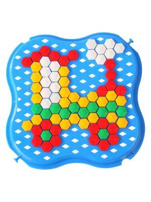 Игрушка развивающая Мозаика 260эл. ТИГРЕС. Цвет: синий, зеленый, красный, желтый
