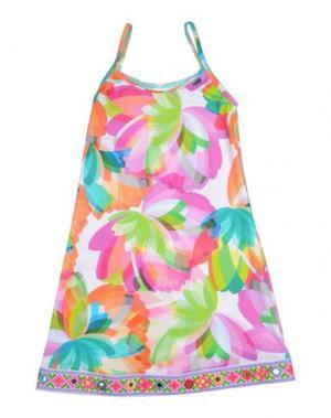 Пляжное платье PATÉ DE SABLE. Цвет: пурпурный