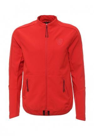 Куртка Puma. Цвет: красный