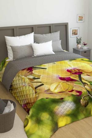 Покрывало Желтая орхидея Сирень. Цвет: желтый
