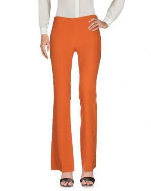 Повседневные брюки MIA SULIMAN. Цвет: оранжевый
