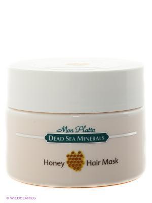 Медовая маска для волос, 250 мл Mon Platin DSM. Цвет: белый