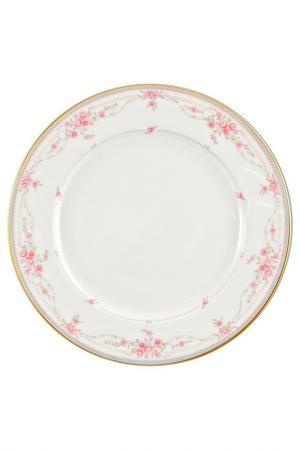 Набор тарелок 21 см 6 шт Narumi. Цвет: розовый
