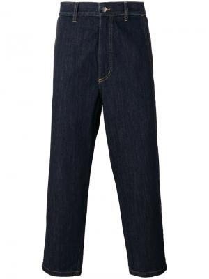 Укороченные брюки Summer Ginza Société Anonyme. Цвет: синий