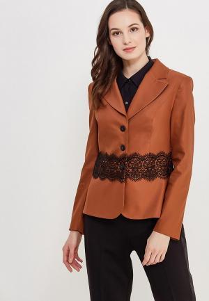 Жакет Mayomay. Цвет: коричневый