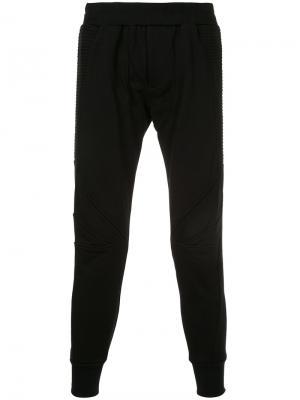 Классические спортивные брюки Julius. Цвет: коричневый